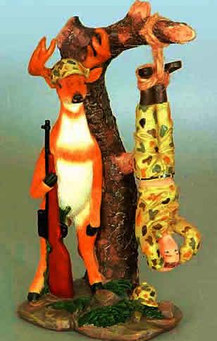 Hanging Hunter Figurine