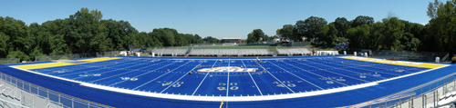 Another Blue Football Field: Ralph F. DellaCamera Stadium at the University of New Haven