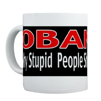 Mugs-A-Plenty: Obama Why Stupid People Shouldn't Vote