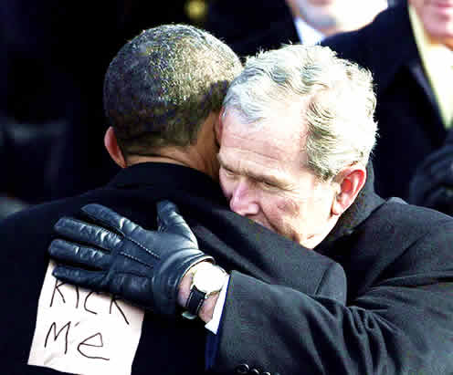 The Last Official Act of George W. Bush as President of the United States