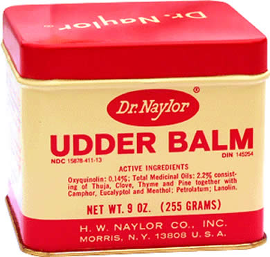 Dr Naylor Udder Balm: Great Stuff For Diabetic Feet