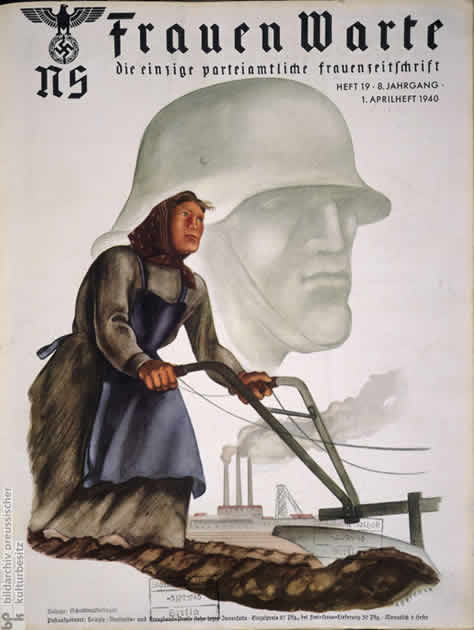 nazi propaganda thesis Students analyze several examples of nazi propaganda and explore its impact on german society.