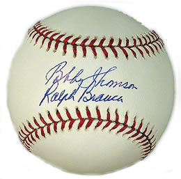 Every Other Ball, We Sign On The Bottom. That Way The Other Guy Signs On Top.