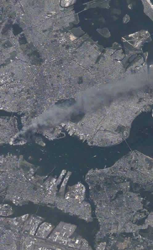 9-11 From Space