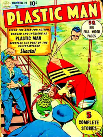 My Viewsonic Viewpad 100 eBook Project: Plastic Man Comic Books On DVD