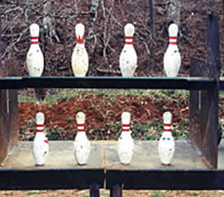The Sport of Bowling Pin Shooting