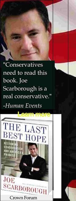 Joe Scarborough Picks Up A Ringing Feline Endorsement