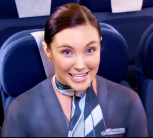 The Bare Essentials of Safety from Air New Zealand: Those Clever Kiwis Filmed Their Entire Flight Safety Video In Body Paint