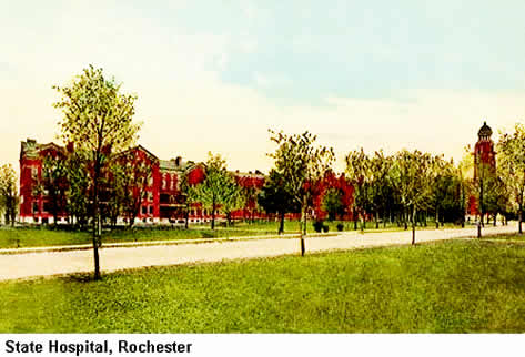 The Federal Medical Center in Rochester, Minnesota, Formerly The Rochester State Hospital: Home of Many Famous Incarcerated Celebrities. And I Used To Live Across The Street From It.