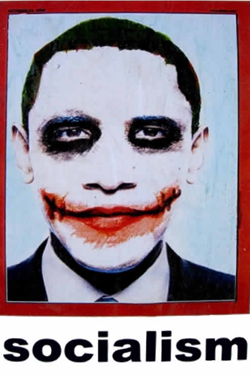 What The Shepard Fairey Poster Was To The Campaign The Obama Joker Will Be To His Presidency