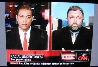 CNN Coverage of 9-12 Washington DC Tea Party Protest