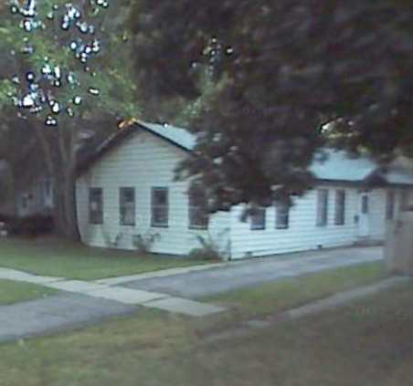 An Odd Little House 3 Doors Down From Our Old House on Crane Avenue in Hazel Crest Where We Lived 50 Years Ago