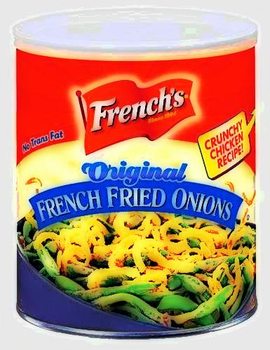 Sixty Percent of Those Canned French Fried Onions Are Sold Between October and December