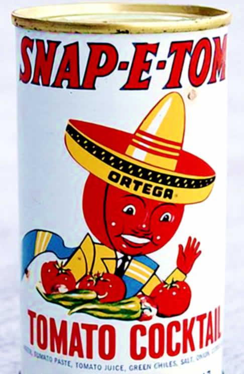 Snap-E-Tom Tomato Cocktail