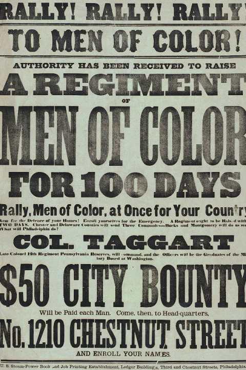 Rally! Rally! Rally! To Men of Color!