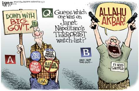 Guess Which One Was On Janet Napolitano's Terrorist Watch List?