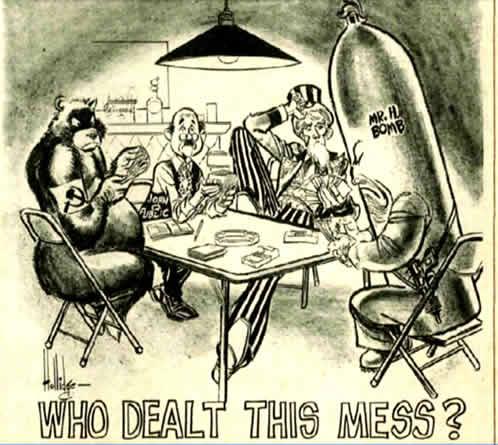 A Cold War Flashback: Who Dealt This Mess?