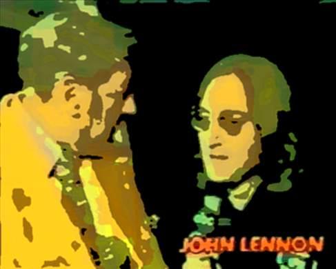 John Lennon on Monday Night Football 1974