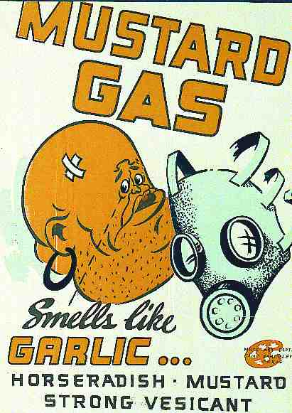 Mustard Gas Smells Like Garlic