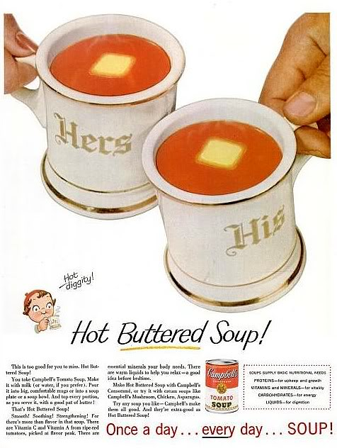 Hot Diggity! Hot Buttered Soup!