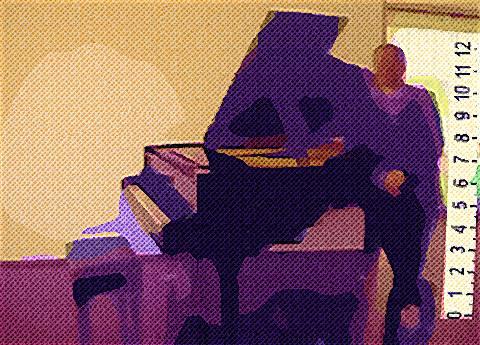 Virtual Painter: The Twelve-Inch Pianist