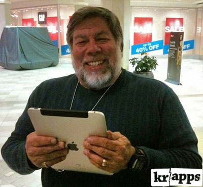 Steve Wozniak Waited Overnight In Line For An iPad