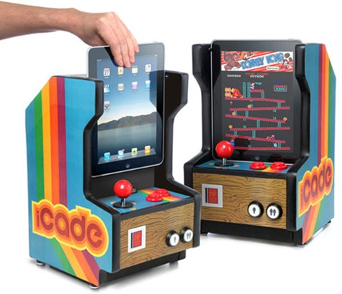 iCade: The iPad Arcade Cabinet. Play Hundreds of Classic Arcade Games on Your iPad