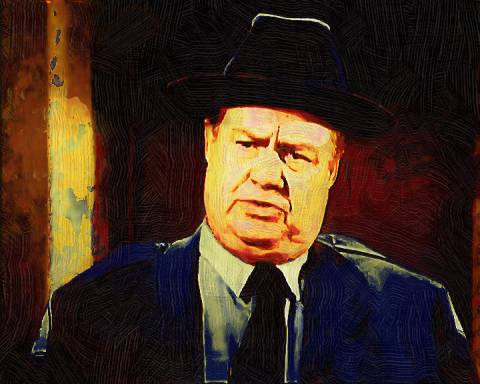 Clifton James, The New York City Born Character Actor Who Made A Living Playing Stereotypical Fat Redneck Southern Sheriffs