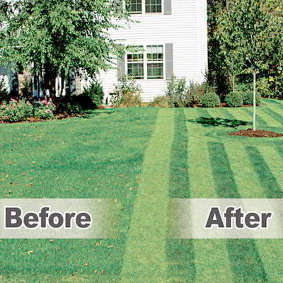 The Lawn Stryper Lawn Striping System from S and B Lawn Systems of Waukesha, Wisconsin: Mow and Pattern Your Lawn At The SAME Time! Designed For Walk-behind Lawn Mowers! Pattern Your Lawn Like The Pros!