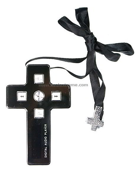 Fashionable Cross MP3 Player