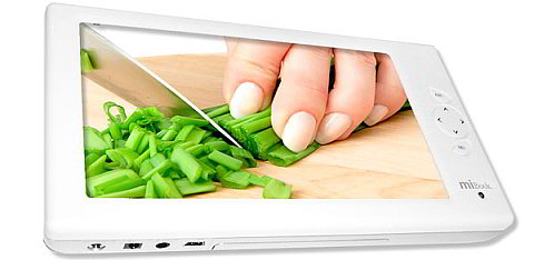 miBook: The Video Player for the Kitchen and Everywhere Else
