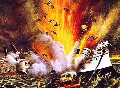The USS Maine: No One Can Tell What Caused The Explosion. I Don't Believe The Spanish Had Anything To Do With It