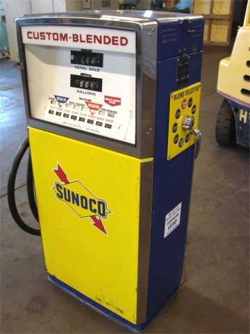 Sunoco Blend-O-Matic Gas Pump