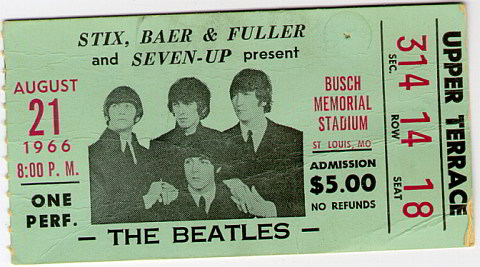 August 21, 1966: The Beatles Play 2 Shows in 2 States in 1 Day