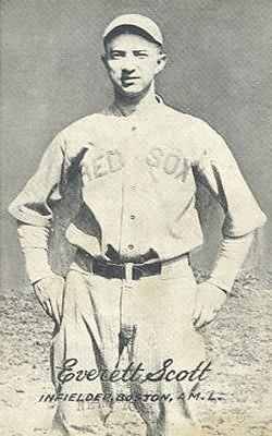 Everett Scott, Who Appeared In 1,307 Consecutive Games From June 20, 1916 Through May 6, 1925, Setting A Record Later Broken By Lou Gehrig