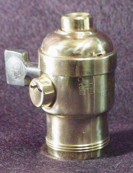 General Electric Locking Light Bulb Socket From The 1920s