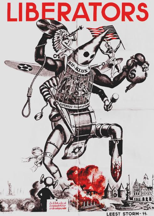 1944 German Propaganda Poster