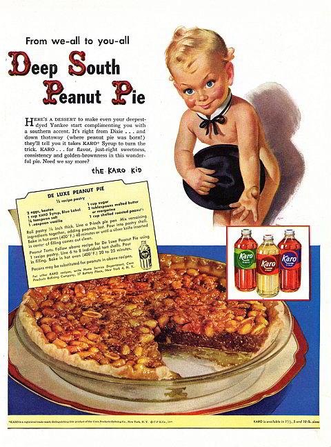 Deep South Peanut Pie