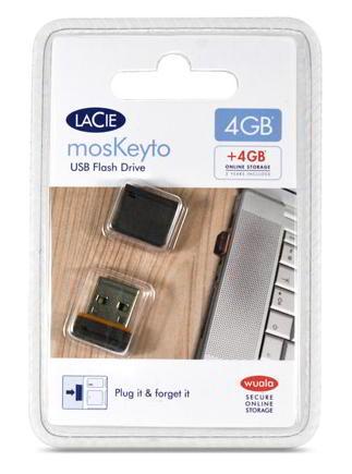 LaCie MosKeyto Tiny USB Drive