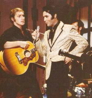 Lance LeGault With Elvis Presley on the Legendary '68 Comeback Special