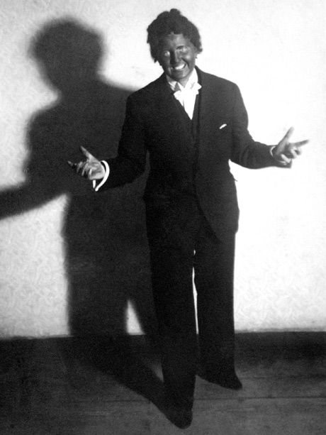 Eva Braun in Blackface