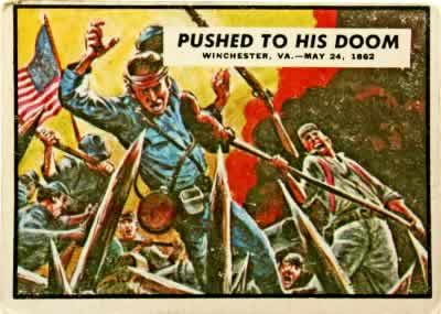 Topps 1961 Civil War News Trading Cards