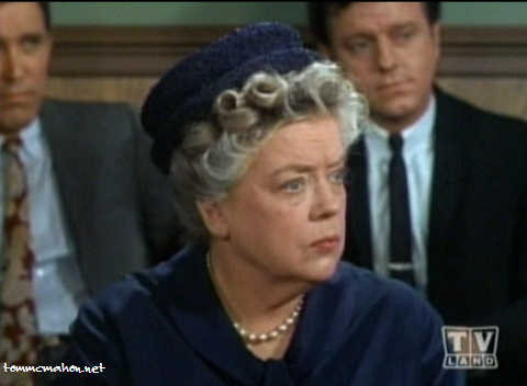 Aunt Bee Listens Intently