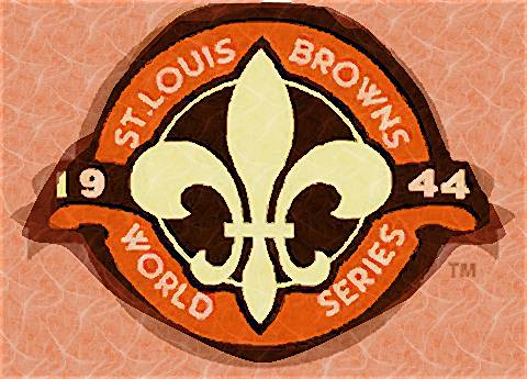 Virtual Painter: St. Louis Browns 1944 World Series Logo