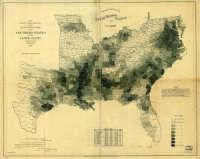 1861 Slave Map
