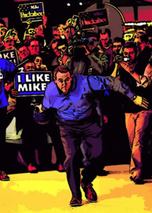 Intocartoon: Photo-Op Bowling In Milwaukee