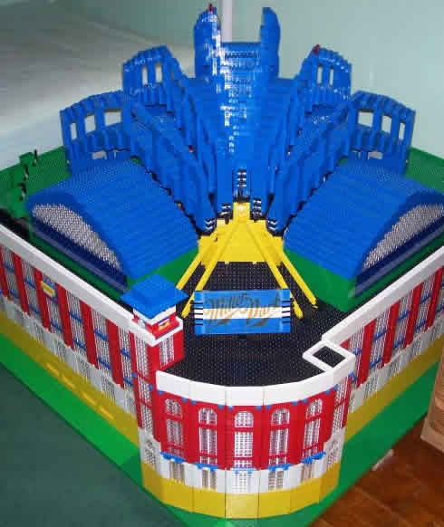 Lego: Milwaukee's Miller Park, Complete With A Working Retractable Roof