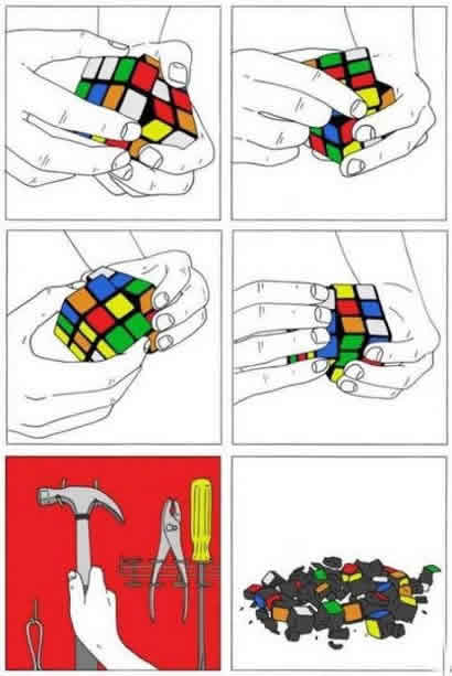 Most Efficient Way To Solve Rubik's Cube