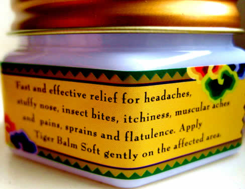 Tiger Balm, The Miracle Of The Orient: Is There Anything It Can't Do?