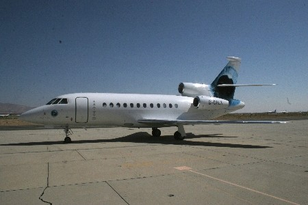 Eco-Warrior Richard Branson's Private Jet